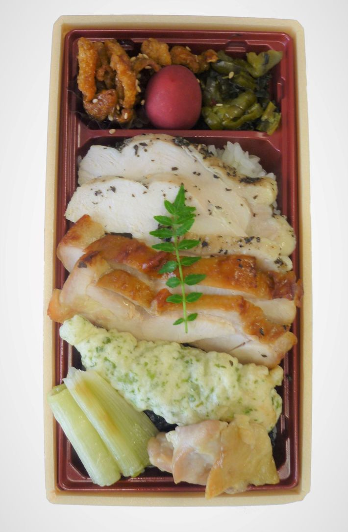 上州地鶏肉盛り弁当